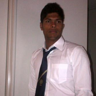Umesh Yadav is off to the function at the Australian War Memorial. - Team Umesh