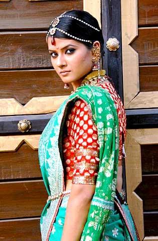 Jhansi Ki Rani Look