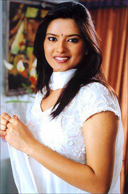 Kratika Sengar in White Salwar