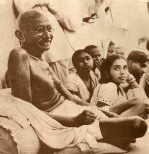 Gandhiji with Children