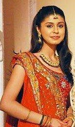 In Red Salwar Suit