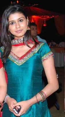 In Shiny Blue Salwar Suit