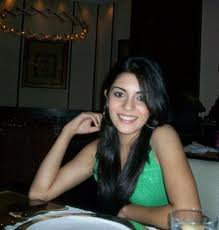 In Green Top on Dining Table