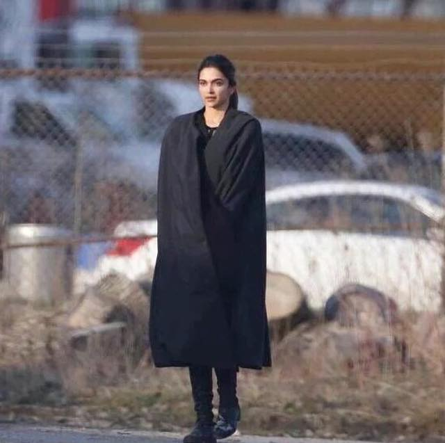 Deepika padukone clicked on the sets of XXX The return of xander cage