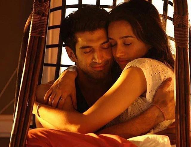 Shraddha kapoor and Aditya roy kapoor New Still from the movie OK Janu