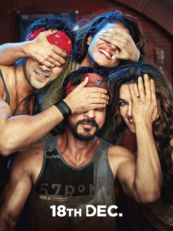 Dilwale Movie Half Look Poster