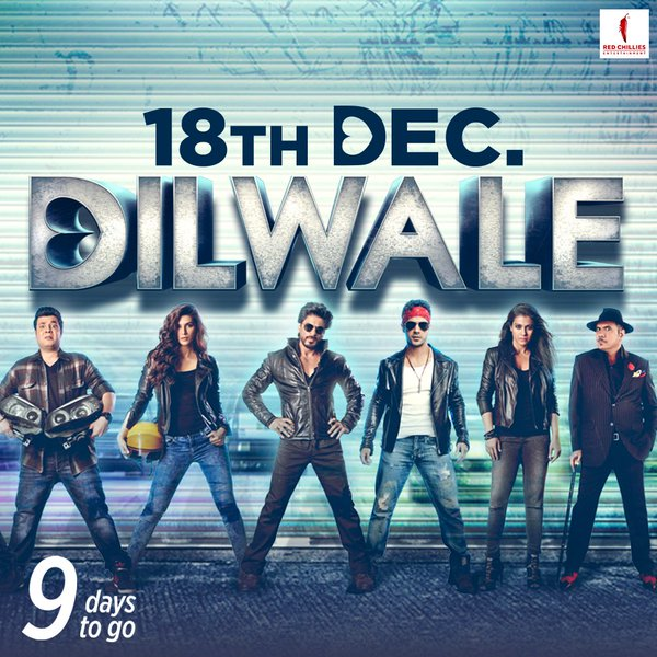 Dilwale Movie Wallpaper