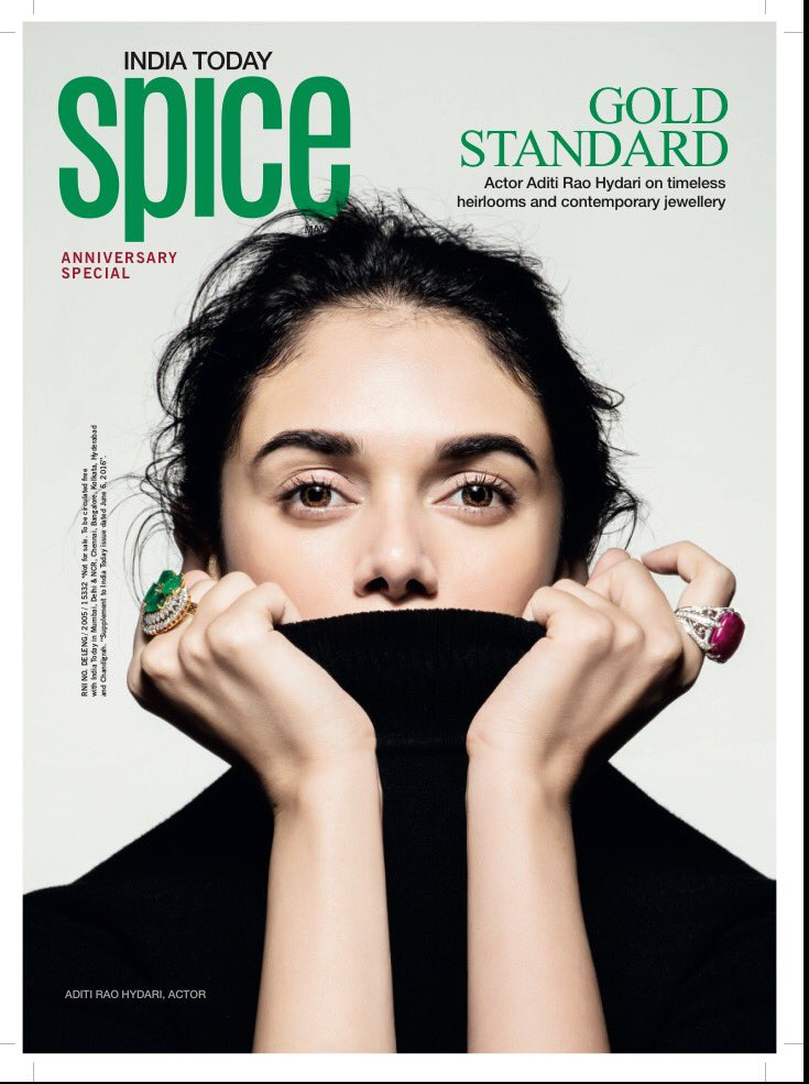 Aditi Rao Hydari On The Cover Of India Today Spice Magazine India June 2016