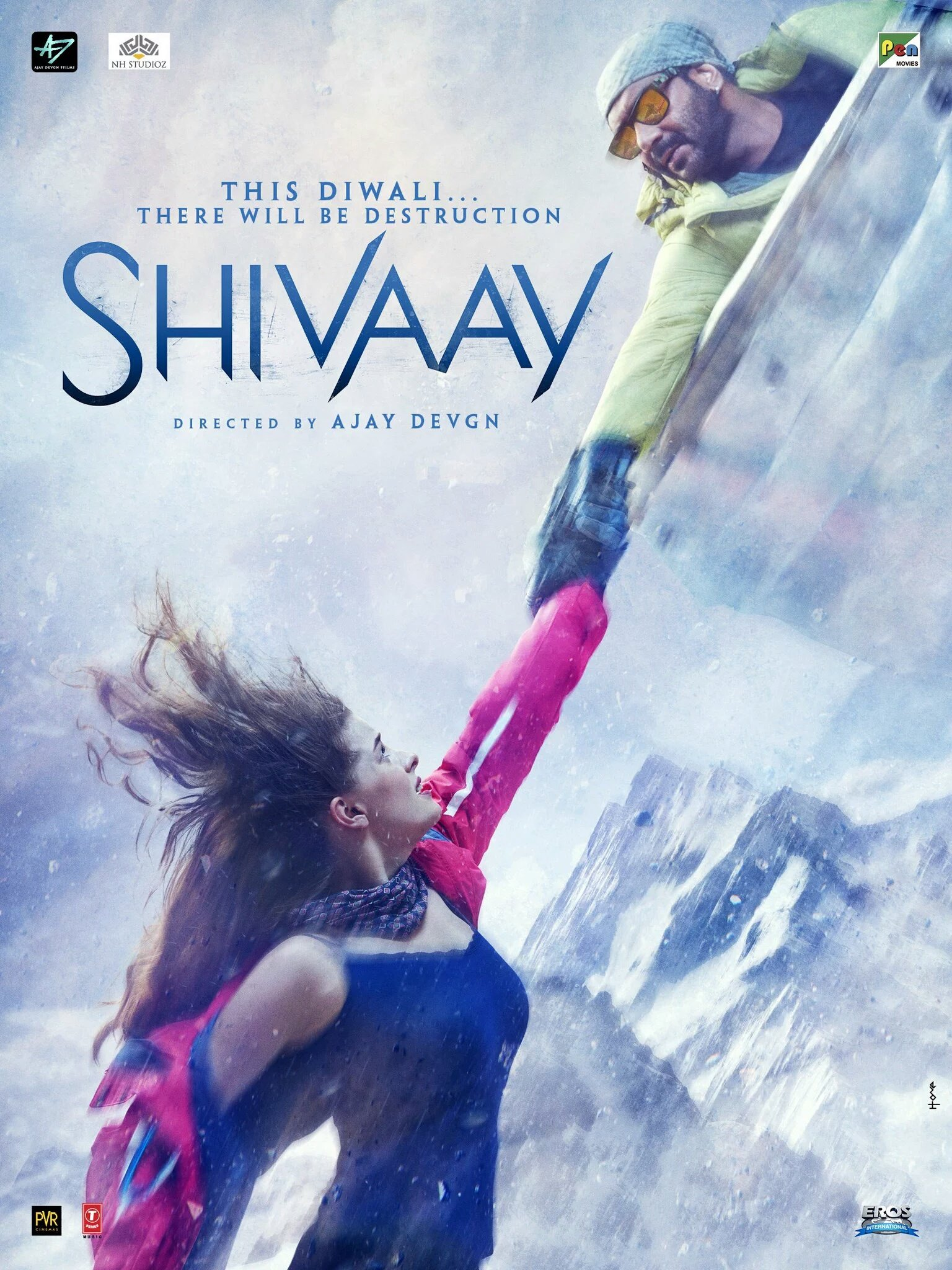 Shivaay Movie Poster-06