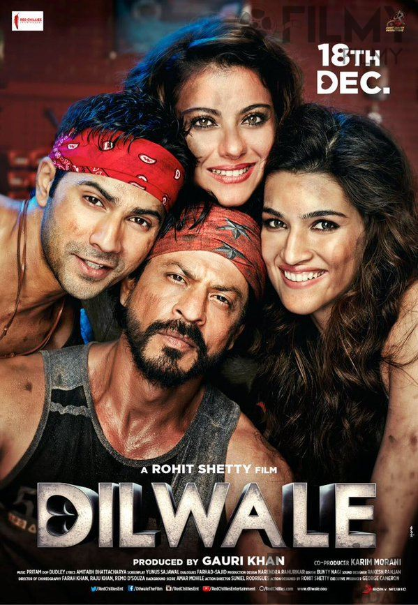 Dilwale Movie Poster-03