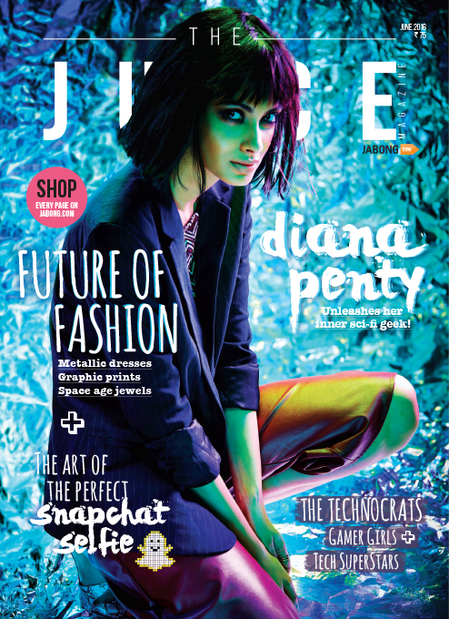 Diana Penty On The Cover Of The Juice Magazine India June 2016