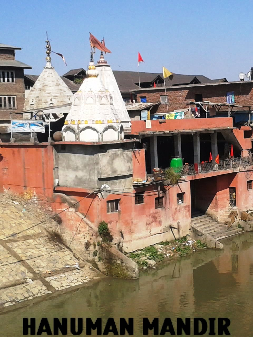 Hanuman Mandir In Rajbagh, Srinagar