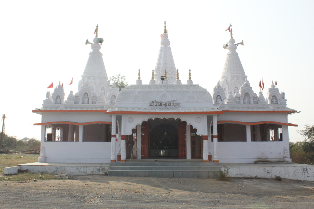 View From Road- Jagannath Dham 01
