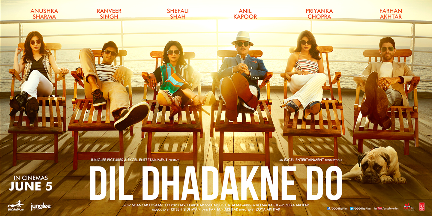 Dil Dhadakne Do Film Wallpaper
