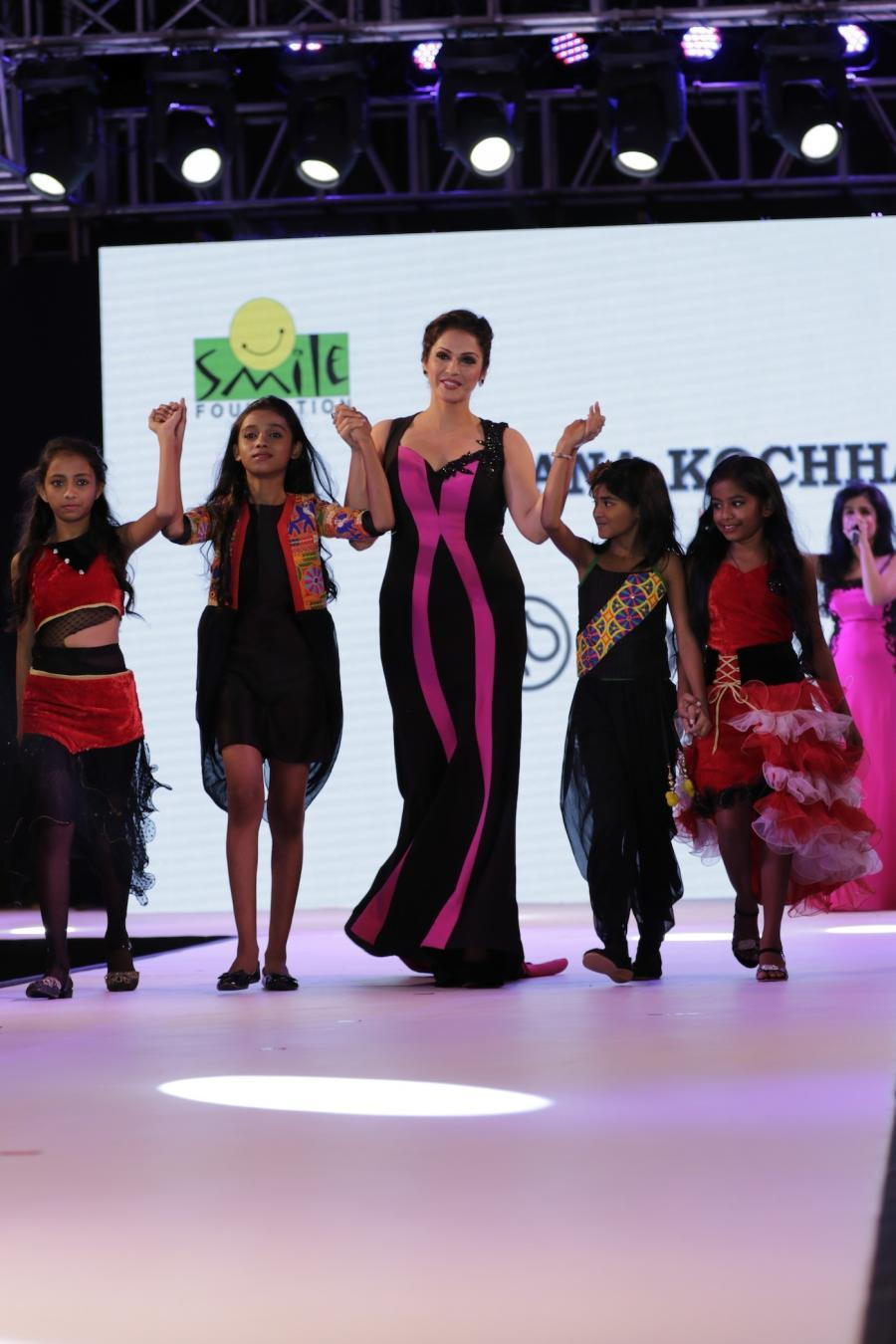 9th Smile Foundation Charity Fashion Show in Mumbai