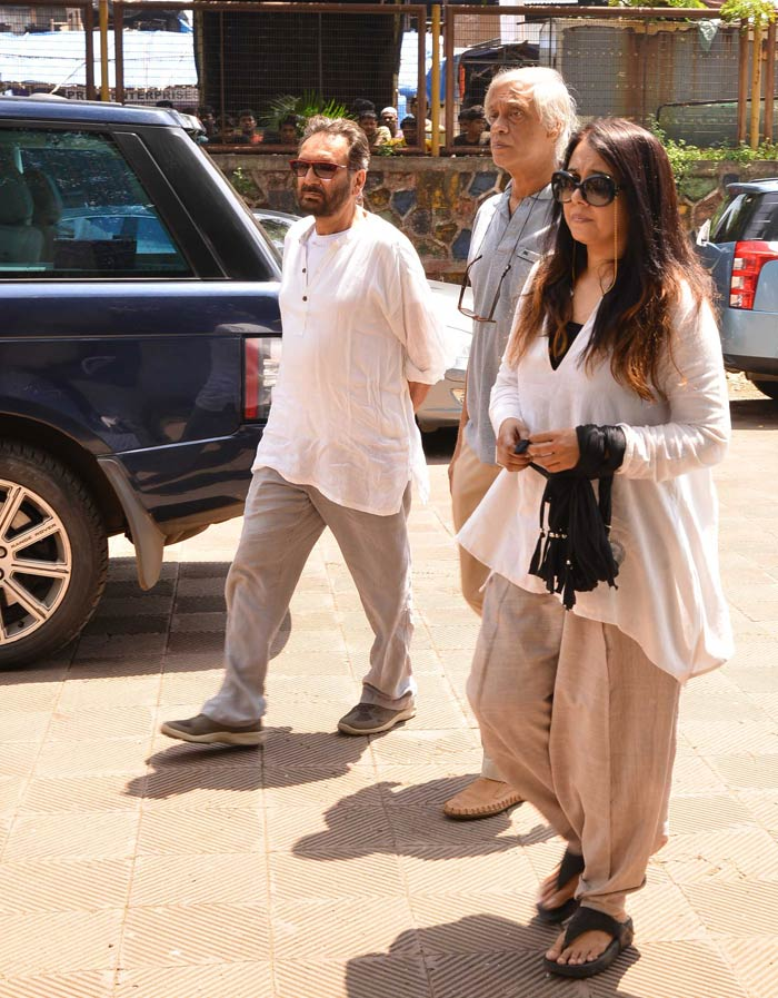 Aadesh Shrivastavas Funeral Photo Gallery