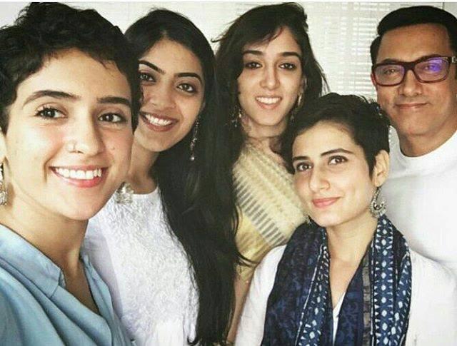 Aamir Khan, Sanya Malhotra, Fatima Sana Shaikh & Ira khan