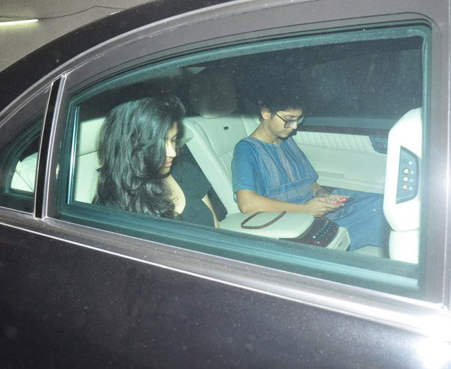 Aamir Khan & Kiran Rao Snapped Outside of Lightbox Theater in Mumbai-03