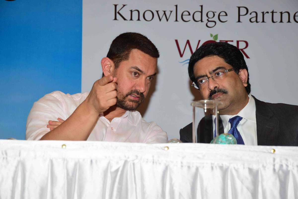 Aamir Khan at Satyamev Jayate Water Cup Event