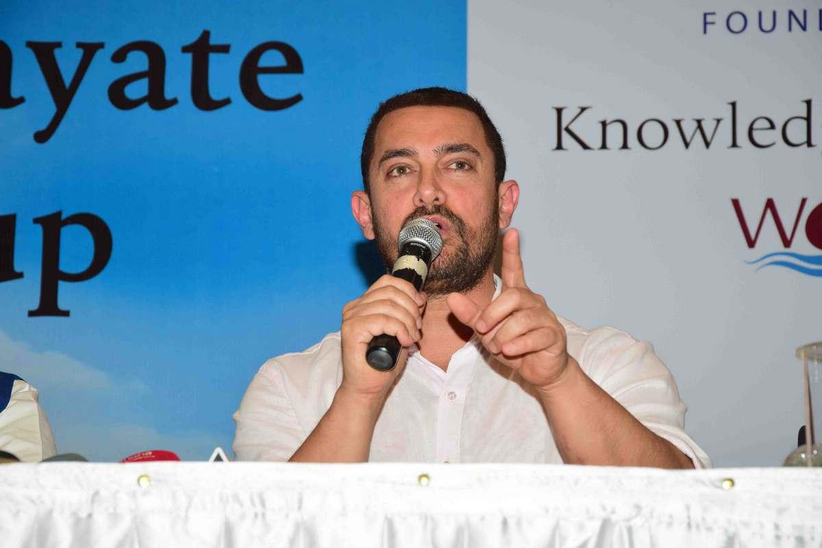 Aamir Khan at Satyamev Jayate Water Cup Event-22