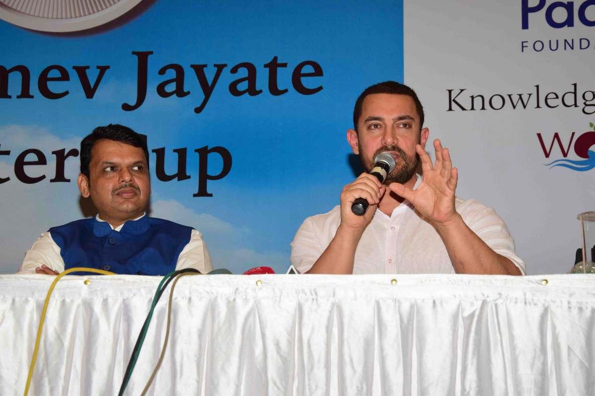Aamir Khan at Satyamev Jayate Water Cup Event-24