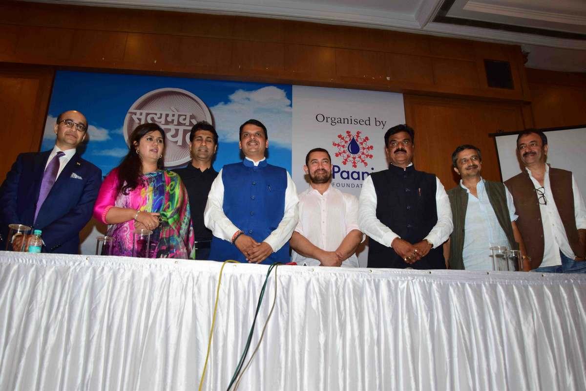 Aamir Khan at Satyamev Jayate Water Cup Event-32