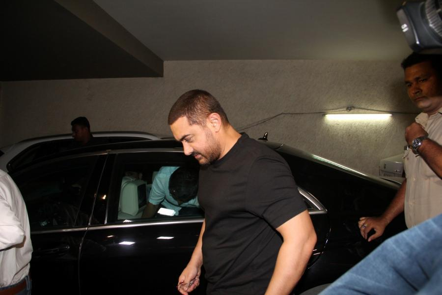 Aamir Khan Special Screening Of Film Tanu Weds Manu Returns-06