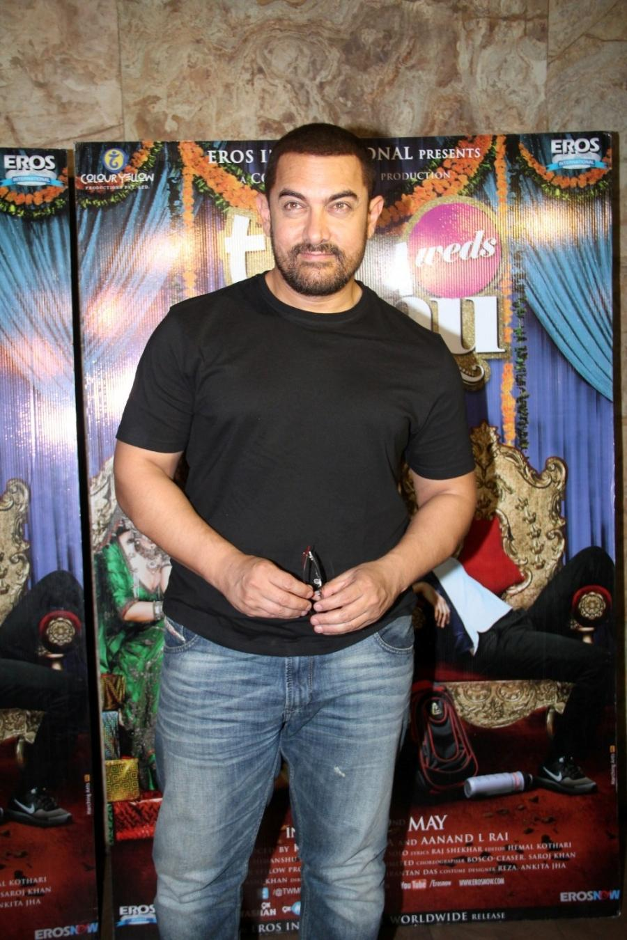 Aamir Khan Special Screening Of Film Tanu Weds Manu Returns-08