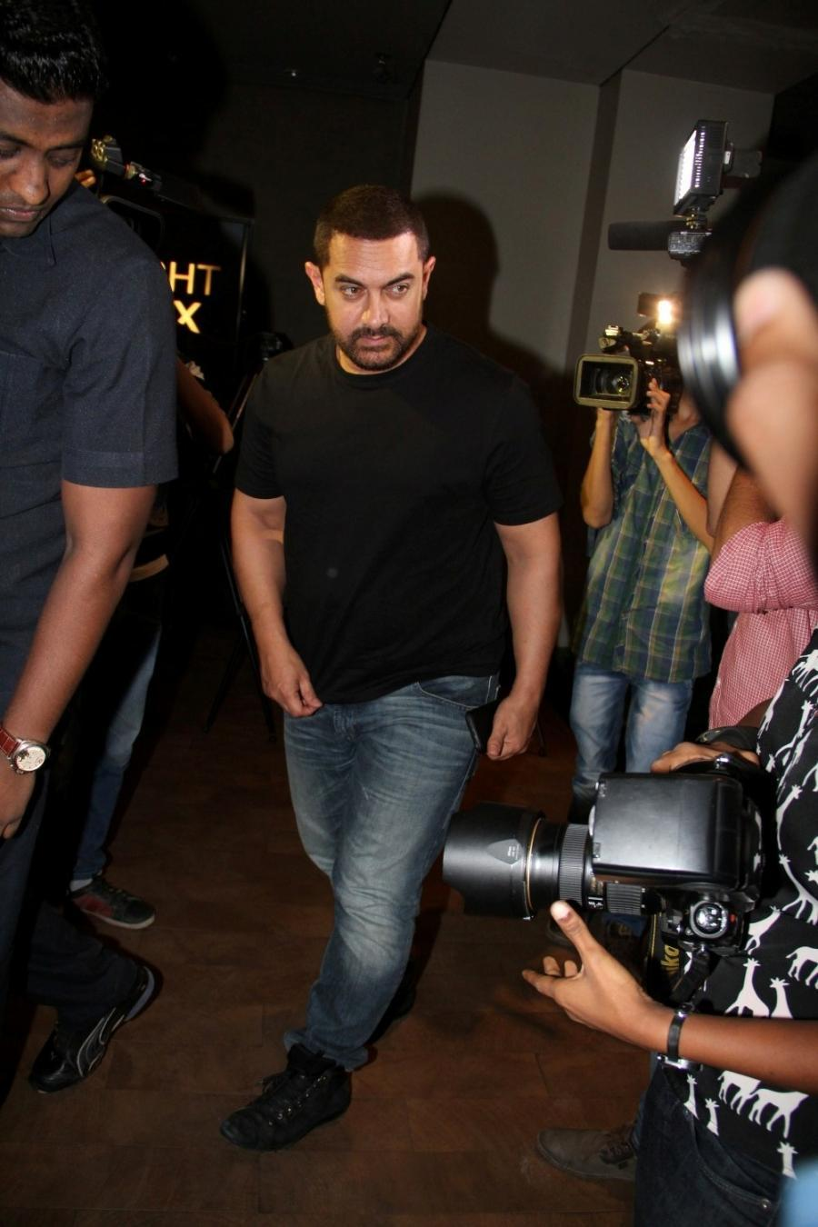 Aamir Khan Special Screening Of Film Tanu Weds Manu Returns-09