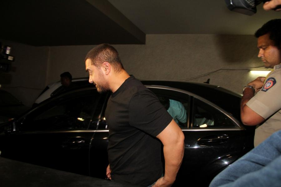Aamir Khan Special Screening Of Film Tanu Weds Manu Returns-15