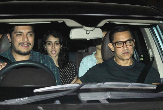 Aamir Khan & Ira khan