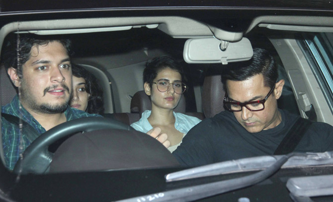 Aamir Khan Special Screening of Sultan at YRF Studios