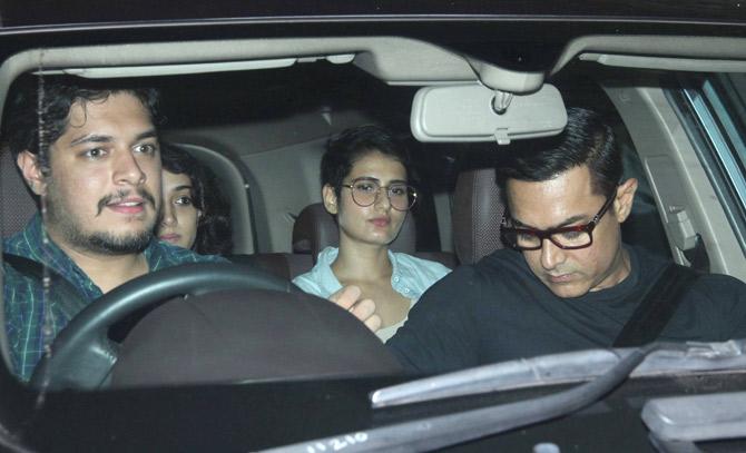 Fatima Sana Shaikh & Aamir Khan