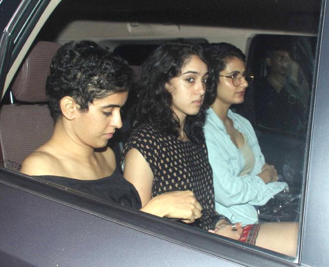 Ira khan, Sanya Malhotra & Fatima Sana Shaikh