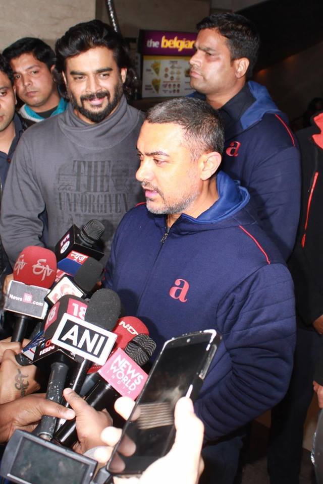 Aamir Khans Special Press Conference for Film Saala Khadoos in Mumbai-11