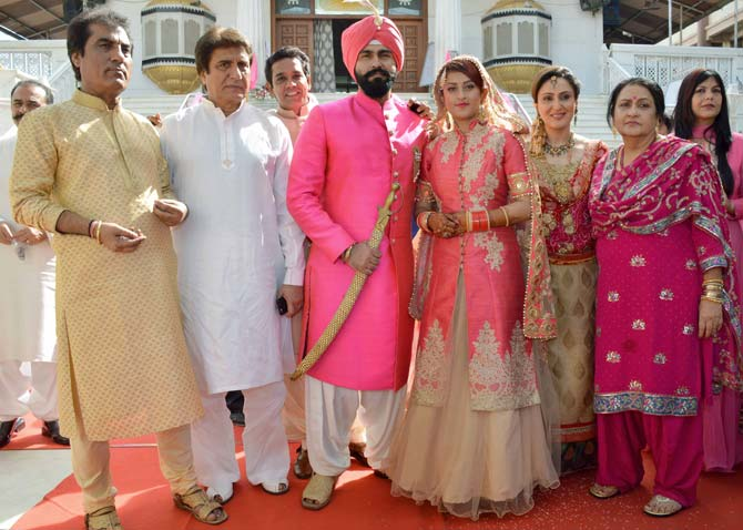 Ammy virk wedding