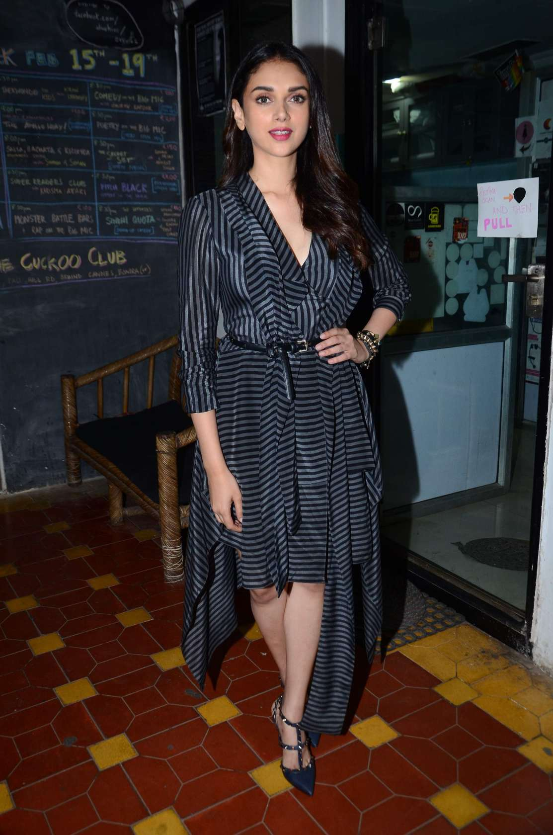 Aditi Rao Hydari And Bejoy Nambiar Launch Of Music Video Aarachaar In Mumbai