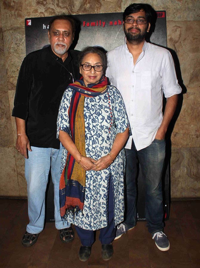 Aditya Roy Kapur & Kiran Rao at a Special Screening of Titli