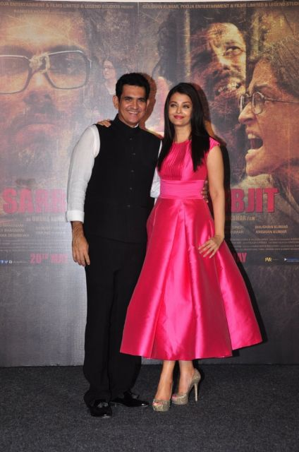 Aishwarya Rai and Randeep Hooda Trailer Launch of film Sarbjit