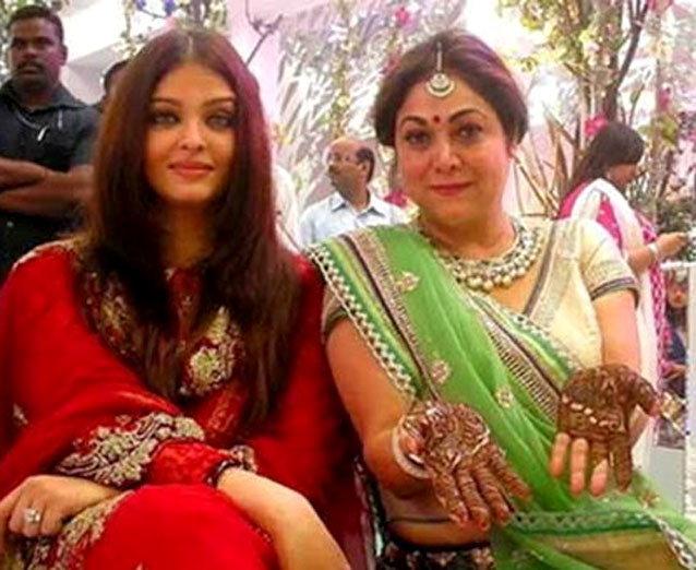 Aishwarya Rai Attends Her Bodyguards Wedding