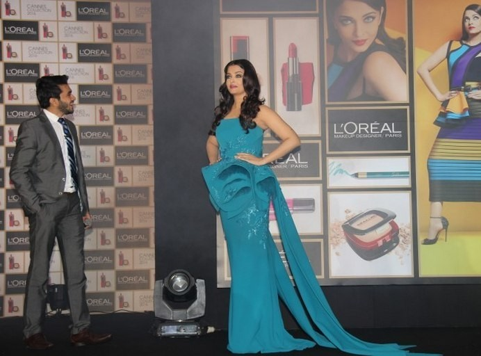 Aishwarya Rai at The Launch of Infallible Cannes Collection 2016 Event