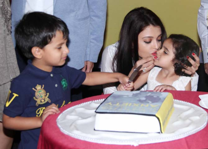 Aishwarya Rai launches Dr Zirak Markers book Parenting in the Age of Anxiety