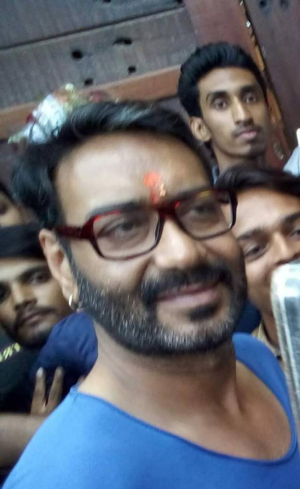 Ajay Devgan Recently Celebrated his Birthday with his fans