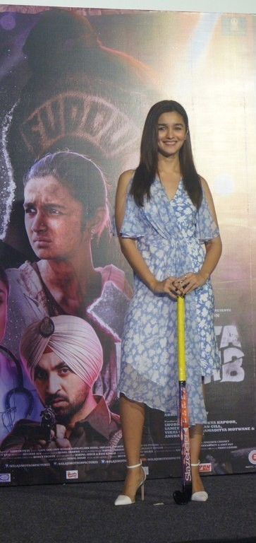 Alia Bhatt at the Song launch of Ikk Kudi from Udta Punjab