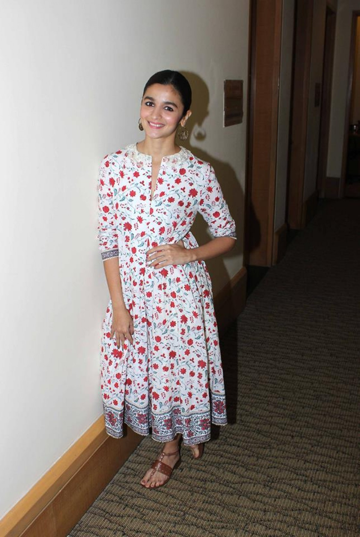 Alia Bhatt Spotted at JW Marriott