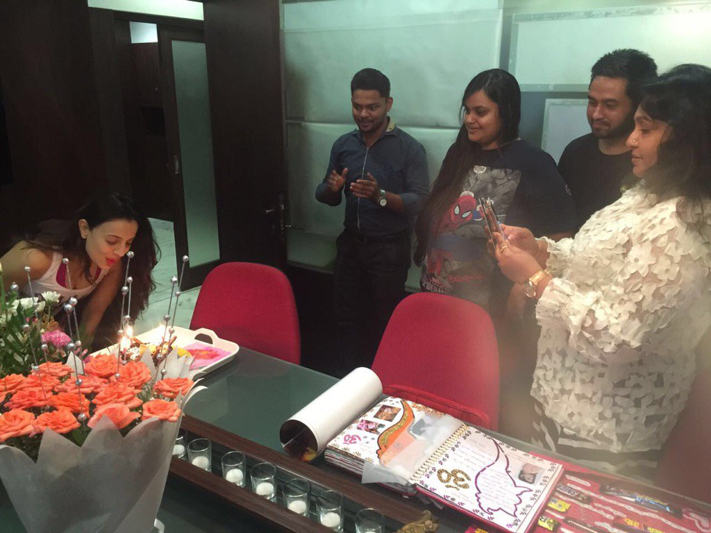 Ameesha Patel Celebrates Her Birthday