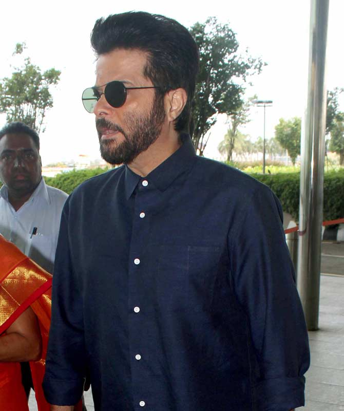 Amitabh Bachchan, Anil Kapoor, Jackie Shroff and other celebs Spotted at Airport