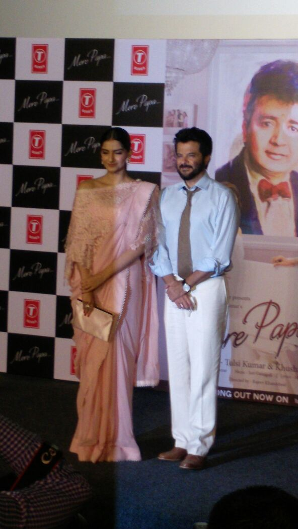 Anil and Sonam Kapoor will launch Bhushan Kumars Music Video Mere Papa