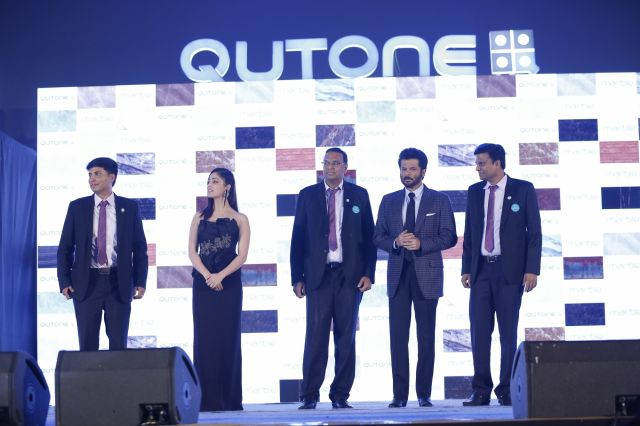 Anil Kapoor and Yami Gautam at Qutone Launch Event