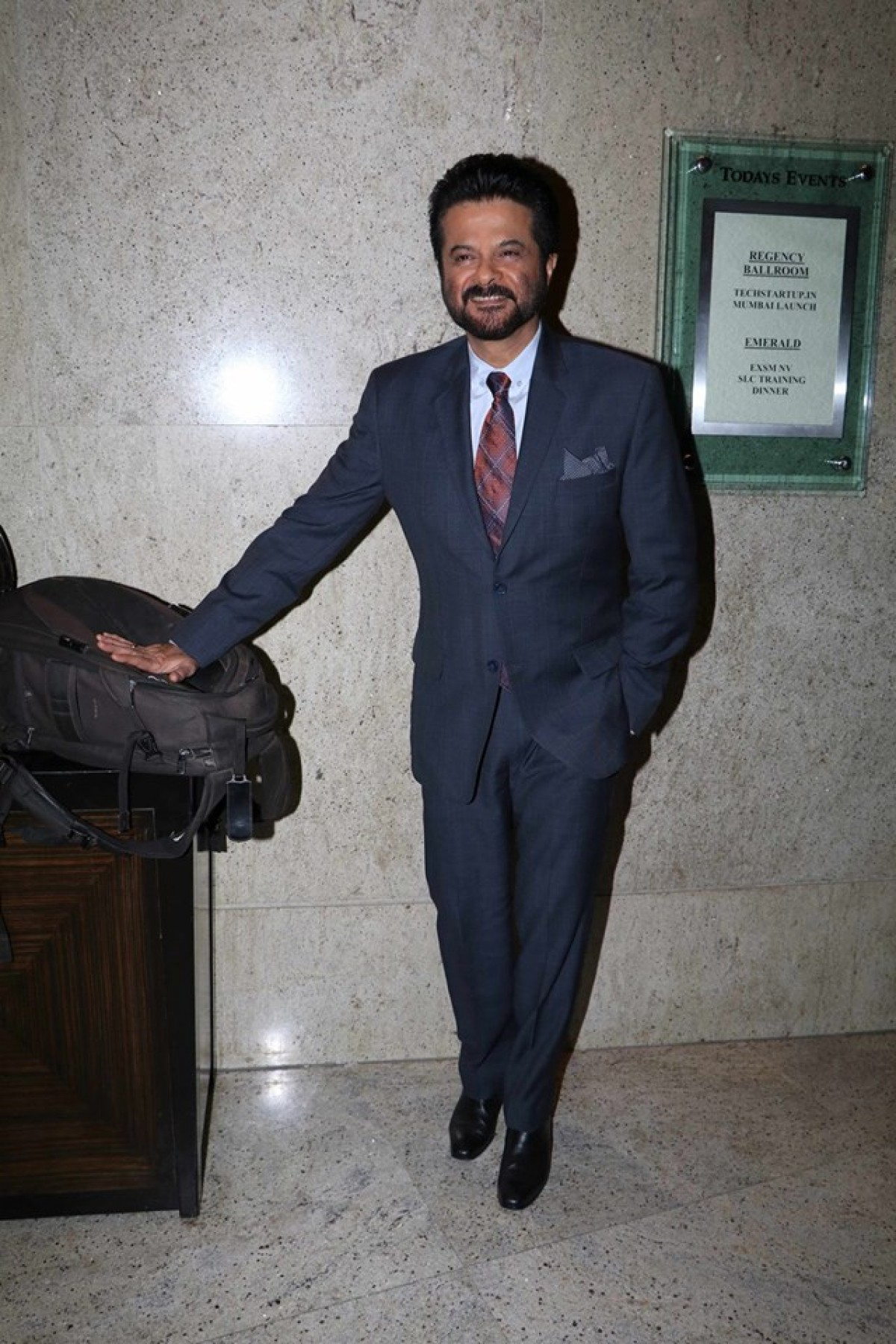 Anil Kapoor attends Indi Com Association With IBM Startup Initiative